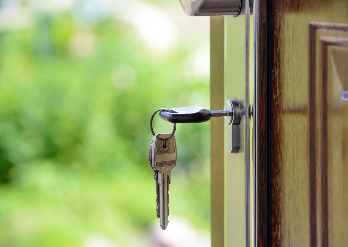 drzwi z kluczem